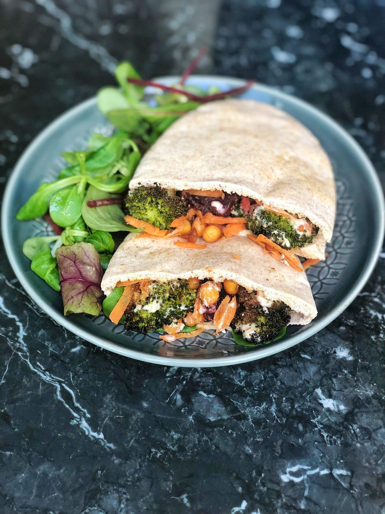 Broccoli pitta