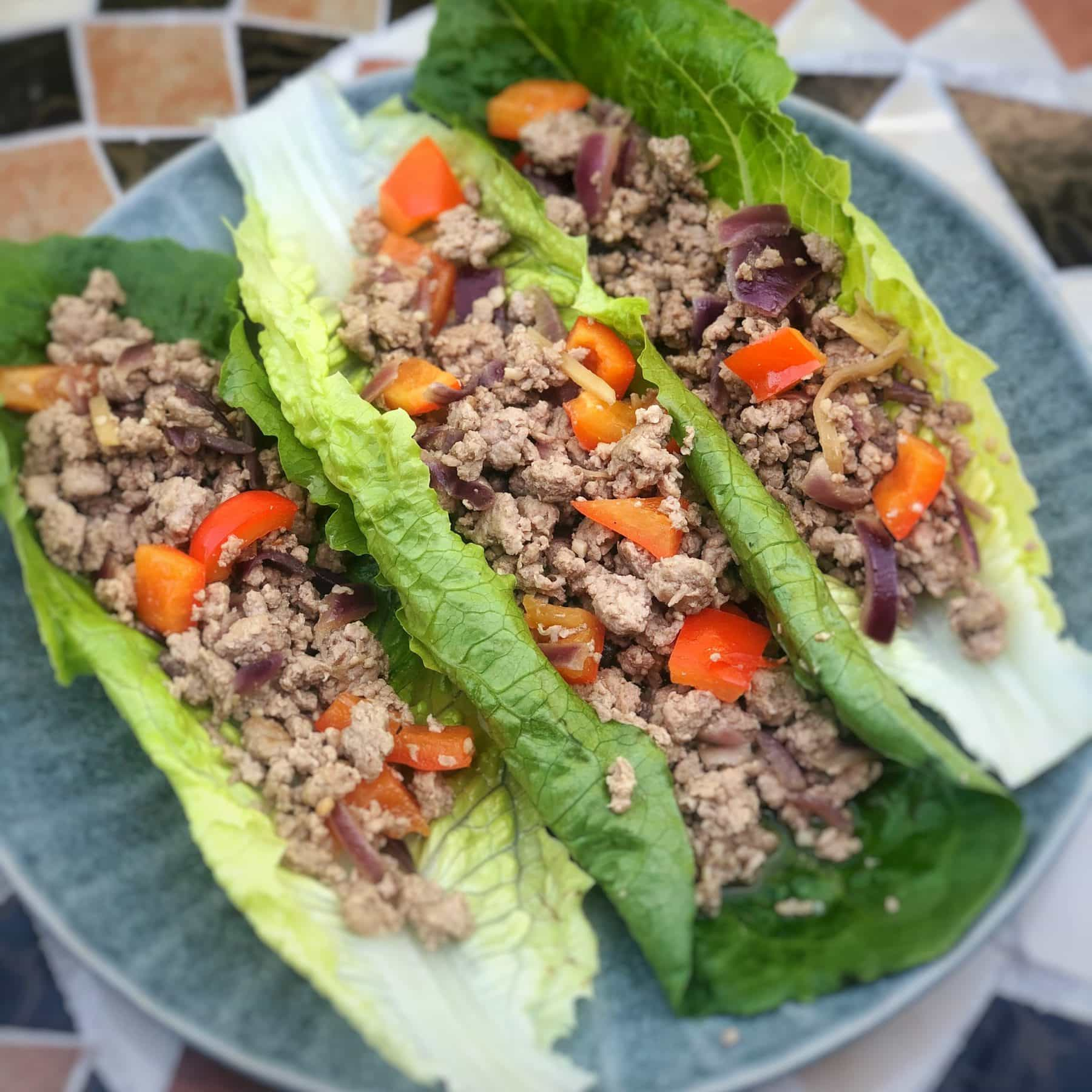 turkey lettuce boats sq